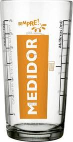 Copo Medidor de Vidro Nadir 350ml