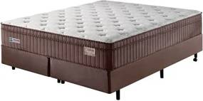 Cama Box King Size Molas Ensacadas Supreme 193X203X71