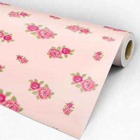 Papel de parede adesivo floral