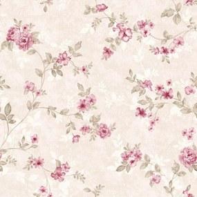 Papel de Parede StickDecor  Adesivo Floral Rosinhas