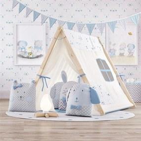 Cabana Infantil Menino Azul Amiguinhos GrÁo de Gente Azul