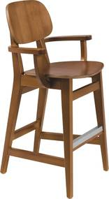 Cadeira Infantil London Amêndoa Cor Marrom - Tramontina