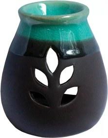 Difusor Aromático Folha em Cerâmica
