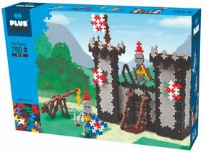 Blocos De Montar - Plus-plus Castelo Mini Basic 760 Peças