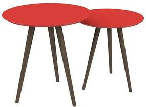 Conjunto De Mesa Redondo Vermelho - Pinoquio