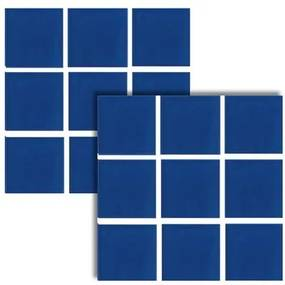 Revestimento Nautilus Azul Cobalto Brilhante 9,5x9,5cm - 82314E - Portobello - Portobello