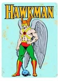 Placa Decorativa em MDF Gaviao Negro DC Comics