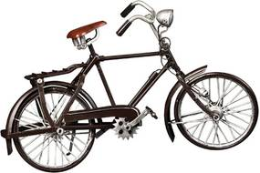 Miniatura Bicicleta Vintage Decorativa de Metal