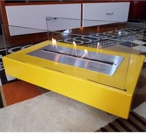 Lareira Classe A Ecológica Colors Amarelo