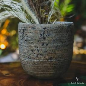 Vaso Cachepô Cimento Antik