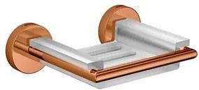 Saboneteira Disco Red Gold com Base em Resina - 2010.GL.DSC.RD - Deca - Deca