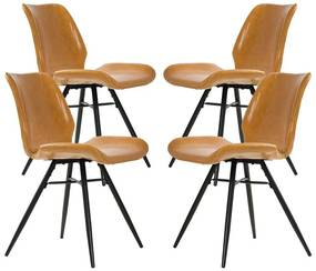 Conjunto 04 Cadeiras Country Pés Palito - Wood Prime AM 4017