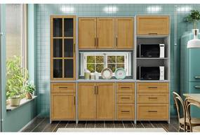 Conjunto Cozinha Cristal Finestra Móveis