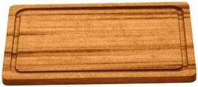 Tábua para Churrasco Tramontina Retangular em Madeira Muiracatiara com Acabamento Envernizado 30 x 21 cm -  Tramontina