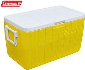 Caixa Térmica 48 QT 45,4 Litros Amarelo - Coleman