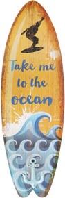 Cabideiro Kasa Ideia de Parede Prancha Take me to the Ocean