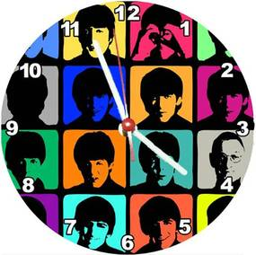 Relógio Decorativo Beatles Square