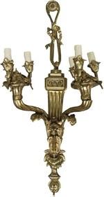 Arandela em Bronze Envelhecido 6 Braços