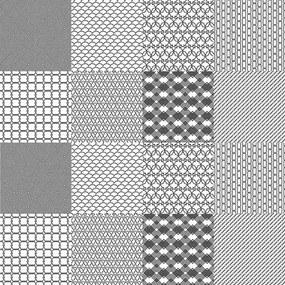Adesivo Azulejo Abstrato Branco E Preto 284684471