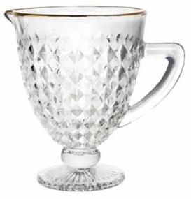 Jarra Vidro Com Fio Dourado Roman 1 Litro 35693 Bon Gourmet