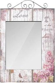 Espelho Flores Love Retangular