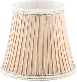 MINI CÚPULA creme p/ lâmpada vela Stella SD9912