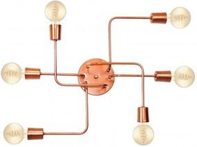 Plafon Para Banheiro Retro Vintage Industrial Md-9000-6 Cobre