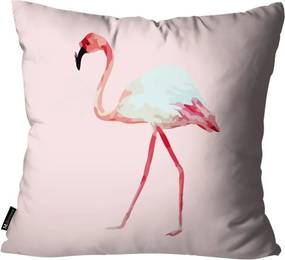 Capa para Almofada Flamingo Rosa -55x55cm