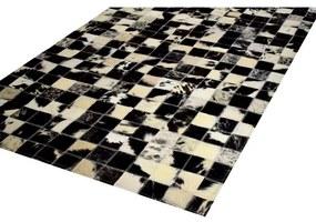 Tapete Mosaico 1,50x2,10 Preto e Off White - RE 45171