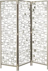 Biombo Espelhado 3 Asas 150x181x150 cm