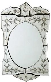 Espelho Veneziano Bisotado 48x27cm