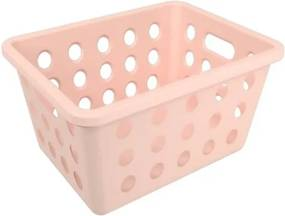 Cesta One Pequena Rosa Blush Coza