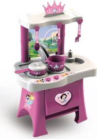 Cozinha Pop Princesas Disney Rosa/Branco Xalingo
