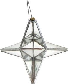 Prisma D'água Estrela 4 Pontas (13cm)