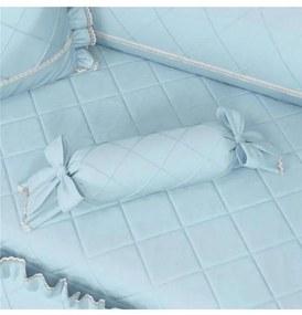 Almofada Apoio Bala Azul Clássico 60cm Grão de Gen