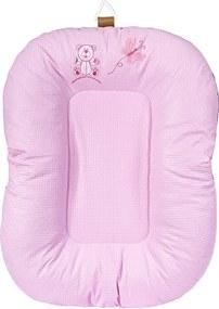 Almofada para Banho de Bebê Rosa