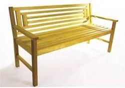 Banco 3 Lugares Echoes Stain Amarelo - Mão & Formão