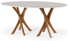 Mesa de Jantar Oval - 1800mm