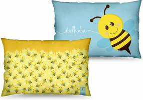Almofada 40x25 temas - abelhinha