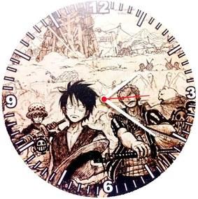 Relógio Decorativo One Piece Fond D Écran