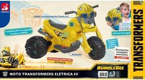 Moto Transformers Elétrica 6V Amarela