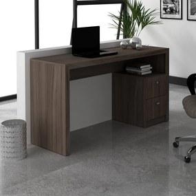 Mesa Para Escritório ME4130 Carvalho - Tecno Mobili