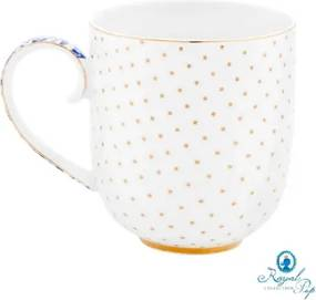 Caneca Grande Dots - Royal White - Pip Studio