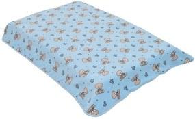 Cobertor para Berço Affetto Sweet Azul - Colibri