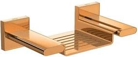 Saboneteira Polo Red Gold com Base em Metal - 2012.GL33.RD - Deca - Deca