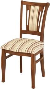 Cadeira Munike Estofada Madeira Maciça - Miller