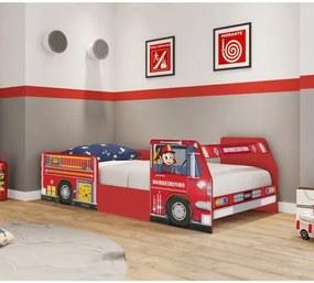 Cama Infantil Bombeiro Plus Vermelho - Pura Magia
