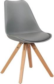Cadeira Ligia Cinza Rivatti