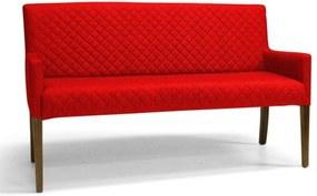 Poltrona Domi Decorativa 2 Lugares Tressê Joy C173 Vermelho