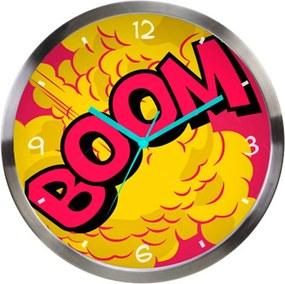 Relógio de Parede DC Comics Boom Colorido em Metal - Urban